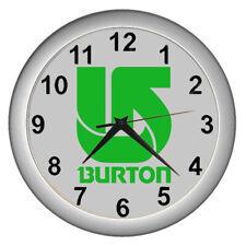 Burton Snowboard Rare Rasta Bob Marley Logo Wall Clock