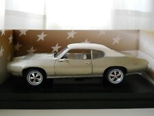 AMERICAN MUSCLE -  1969 PONTIAC GTO - 1/18 DIECAST