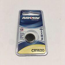 RAYOVAC KECR1620-1C 3-Volt Lithium Keyless Entry Battery 1 pk (1620 Size) Free S