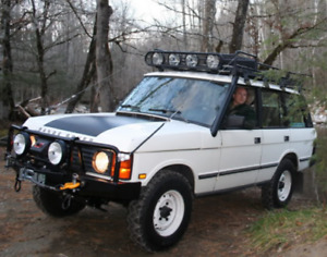 Land Rover Range Rover Classic Hood Blackout New