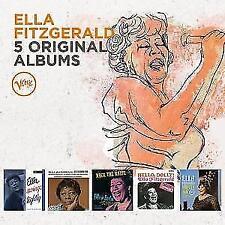 5 Original Albums von Ella Fitzgerald (2016), Neu OVP !!!