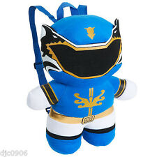 "Nickelodeon Blue Billy Power Rangers 14 "" Plush Figure Backpack Tote- NEW!"