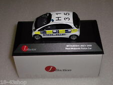 J-COLLECTION JC164 Mitsubishi i-MiEV West Midlands Police Car 2009 1/43