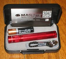 Maglite AAA Solitaire LED Red maglight LED mag-lite mag-light LED!!