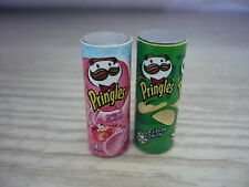 Set of 2  Pringles Packets Dollhouse Miniatures Food Snacks-3
