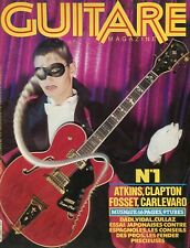 Guitare Magazine #1 ATKINS, CLAPTON, FOSSET, CARLEVARO