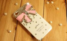 3D Crystal Bling Bow Diamond Case for iPhone 4/4S *Many Colors* - US SELLER