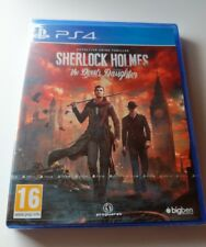 Sherlock Holmes The Devil's Daughter PS4 New Sealed UK PAL  Sony PlayStation 4
