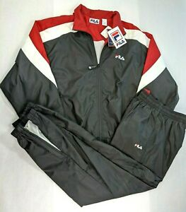 Vintage FILA Track Suit Jacket / Pants Set Size L - NEW with tags Deadstock