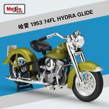 1:18 Maisto Harley Davidson 1953 74FL Hydra Glide Bike Motorcycle Model Green
