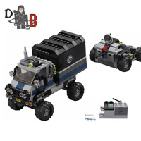 LEGO Jurassic World Truck and trailer from 75929 No Minifigures/Box/Dinosaur
