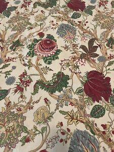 Pottery Barn WELLS PalamporeRed Queen Duvet Cover 2 Standard Shams Linen Blend