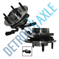 2 Front Wheel Bearing Hub for 1997 1998 1999 2000 Ford F-150 -12mm Bolt 4x4 ABS