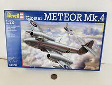 Revell Gloster Meteor Mk.4 1/72 Plastic Model Kit #04658, New never opened