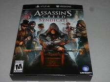 XBOX ONE PS4 ASSASSINS CREED SYNDICATE PROMO STORE DISPLAY BOX ONLY UBISOFT