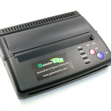 Pro Black Tattoo Transfer Copier Printer Machine Thermal Stencil Paper Maker
