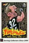 2014 AFL Champions Laserfoil Firepower Caricature FC11 Travis Cloke (Coll'wood)