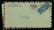 Puerto Rico 1935 Airmail Cover San Juan to San Francisco franked Scott C7