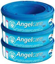 Angelcare Couche Cassettes Système D'élimination recharge (Pack de 3)