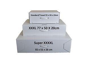 Wedding dress storage & airline travel boxes 3 Sizes. SECONDS Acid free tissue