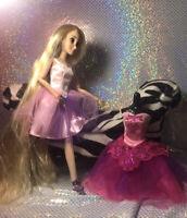 Disney Store Classic Doll Rapunzel Ballerina with Extra Dress Ballet  Princess
