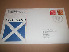 POST OFFICE FIRST DAY COVER NEW DEFINITIVE VALUES SCOTLAND 1976 EDINBURGH