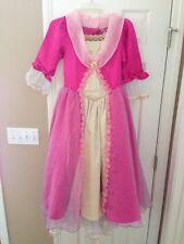 Disney Princess Aurora Sleeping Beauty Gown Costume Childs Kids   Large 10-12