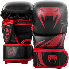Venum Challenger 3.0 Sparring Gloves - Black/Red - for MMA and Boxing
