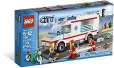 LEGO CITY 4431 Ambulance 2012 EMS Medical Truck - Brand NEW! Retired