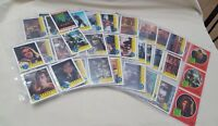 Vintage 1990 Topps Teenage Mutant Ninja Turtle Deluxe Movie 84 Trading Cards