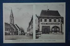 PFAFFENHEIM - CAFE RESTAURANT A L'ARBRE VERT , Prop. FLESCH - VOGEL - HAUT RHIN