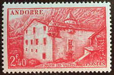 1944 FRENCH ANDORRA Scott # 89 MNH