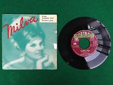 "Disco Vinile 45"" 7"" (1961) MILVA - FLAMENCO ROCK / DA SOLO A SOLA , Cetra SP 886"