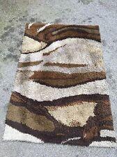 EGE RYA SHAG RUG MID-CENTURY DANISH MODERN WOOL ABSTRACT Biomorphic 4x6 Panton