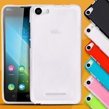 Handy Hülle für Wiko Case Schutzhülle Cover Silikon Tasche Schutz Rückschale