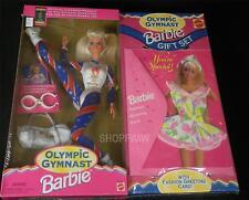 Vintage Mattel Olympic Gymnast Barbie Gift Set 1995 New NRFB