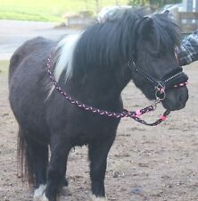 LUXUS Shetty FELL SIDEPULL REITHALFTER gebißlose TRENSE + ZÜGEL Shetland Pony