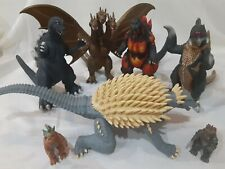 2002-2006 Toho Co. Bandai Godzilla Action Figures lot
