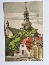 Postcard Tallinn Estonia 1929