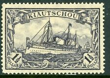China 1906 Kiautschou Yacht Type 1½ Dollar Watermarked Mint D72
