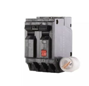 GE THQL2130GFTP GFCI 30 Amp Double Pole Ground Fault Circuit Interrupter