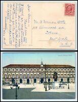 ca 1906 ITALY Postcard - to Ithaca, New York USA J7