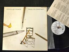 JAPANESE PRESSING Paul McCartney Pipes of Peace Odeon EPS 91071