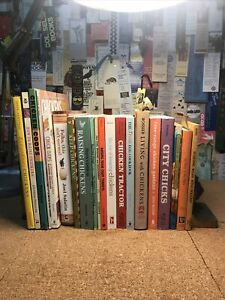 CHICKENS Raising & Keeping Lot of 20 Books Breeding Health Care Backyard Poultry
