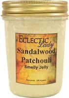 Sandalwood Patchouli Smelly Jelly, Room Air Freshener, 8 oz