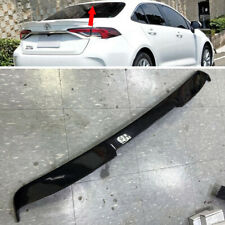 Carbon For Toyota Altis Corolla 12th Sedan V Style Rear Roof Spoiler Wing 2019