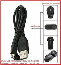 FDC 1km USB Charging Cable FR Tcom-sc TCOMVB Cold Motorcycle Bluetooth Headset