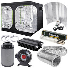 Complete Hydroponic Premium Grow Tent Kit 600w Dimmable Light Kit Fox Filter Kit
