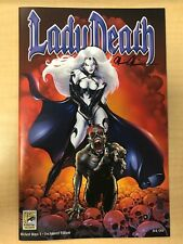 Lady Death Wicked Ways #1 Unchained Jeweled Variant Cover Darick Robertson Sdcc