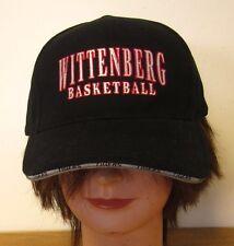 Wittenberg University baseball cap Tigers vtg basketball hat Ohio Lutheran